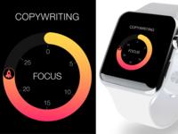 Pomodoro app for Apple Watch