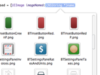 Image popover mock for Xcode