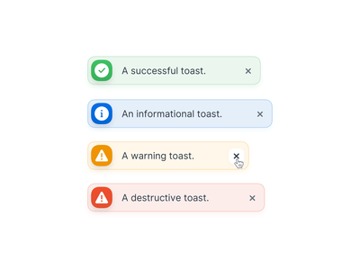 🍞 Notifications - New Countly UI notification alerts interaction dashboard icon system clean minimal light ui banner toast message popup notifications alert analytics design app ux ui