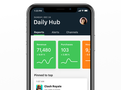 Countly App Concept