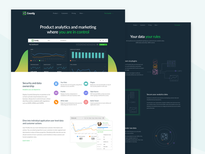 Product page - Countly 2017