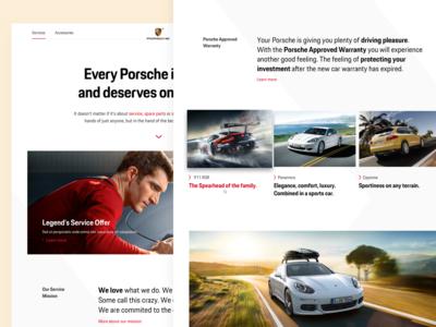 Maintenance & Spare Parts (Porsche)