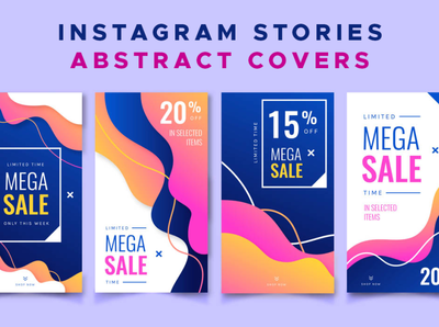 Instagram Stories Abstract Covers vector instagram instagram covers abstract covers instagram stories