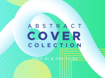 Abstract Cover Collection freebies freebie free vector book covers vectors abstract cover collection