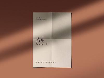 Fold Wrinkle Paper Mockups paper mockup templates psd mockups download psd freebies mockups paper mockups