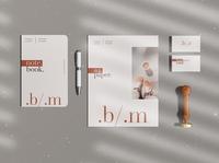 Branding Mockup Templates stationery mockups randing