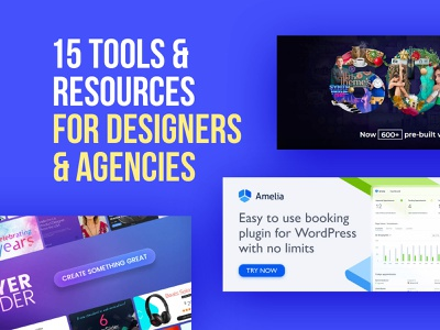Tools And Resources For Designers & Agencies wordpress wp website templates websites agencies designers resources tools