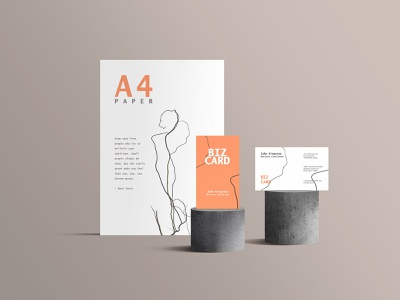 Standing Stationery Mockup branding mockup download psd template templates psd download freebie free mockup templates standing stationery mockup