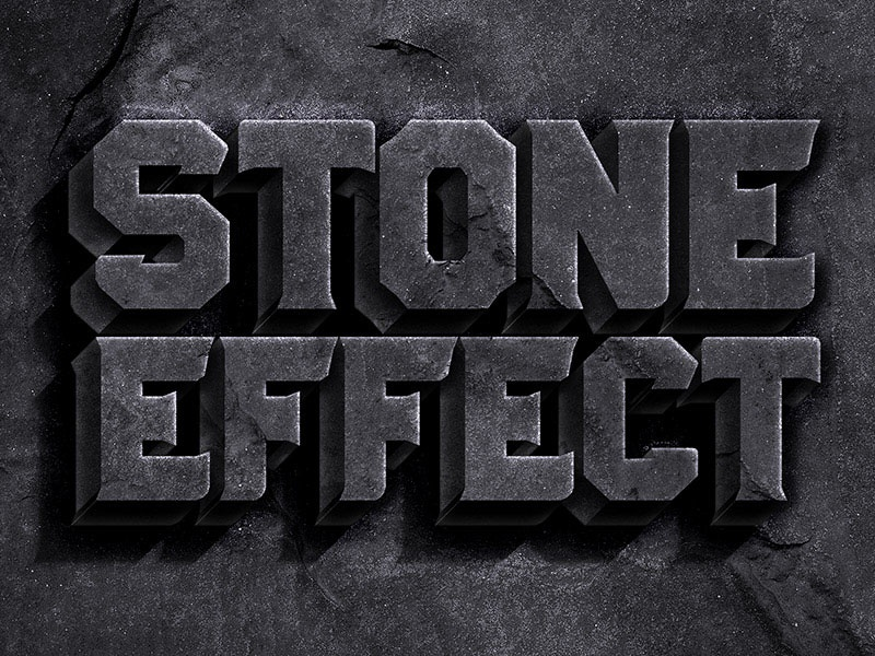 Stone Text Effect texture rock stone text style freebies free download free psd psd stone text effect