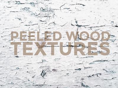 Free Old Peeled Wood Texture