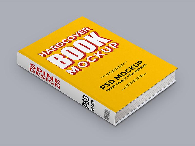 Harcover Book Mockup free freebies freebie template psd cover template mockup book harcover book mockup