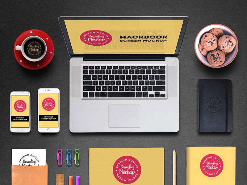 Branding Mockup PSD iphone 6s download freebies free psd free psd stationery branding identity branding mockup branding identity mockup