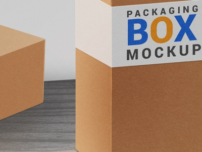 Product Packaging Box Mockup graphics download freebie free psd product packaging box mockup