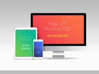 Apple devices psd mockups db