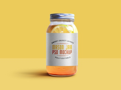 Mason Jar Mockup PSD photoshop download freebies jar freebie free psd mockup psd mason jar