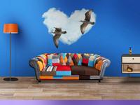 Living room wall mockups