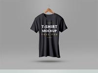 free t shirt mockup psd - T-Shirt Mockup PSD