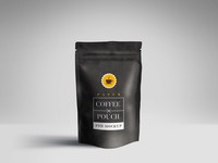 coffee pouch mockup psd - Paper Pouch Packaging Mockup PSD