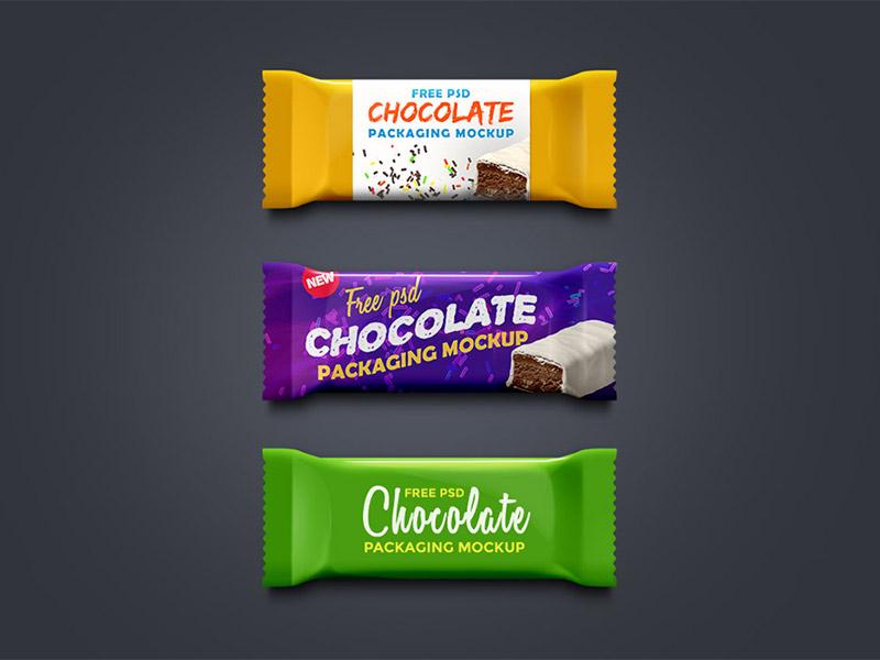 Chocolate Packaging Mockup PSD product packaging download freebie freebies free mockup templates psd mockup packaging chocolate