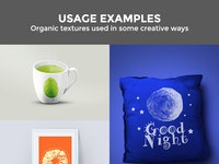 Free organic textures usages