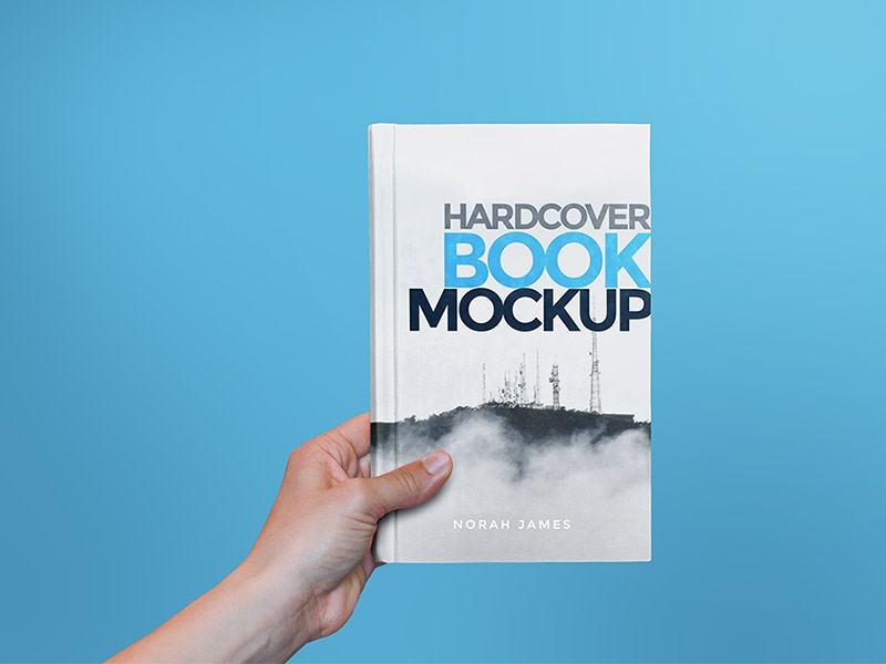 free hardcover book mockup psd by graphicsfuel rafi dribbble