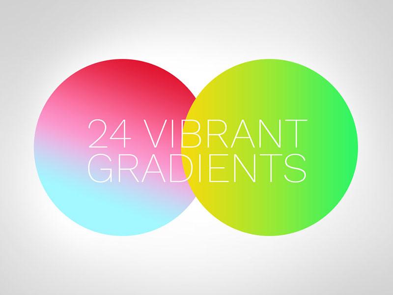 24 Free Vibrant Gradients