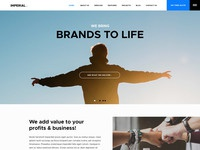 Imperial psd web template