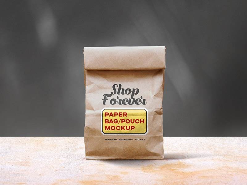 Download Paper Bag Mockup PSD