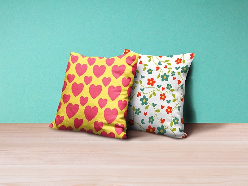 Download Pillows Mockup PSD