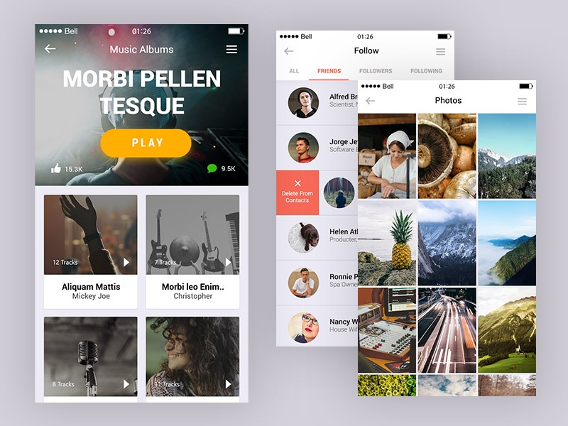 Appify: Mobile App UI Kit – Vol.2