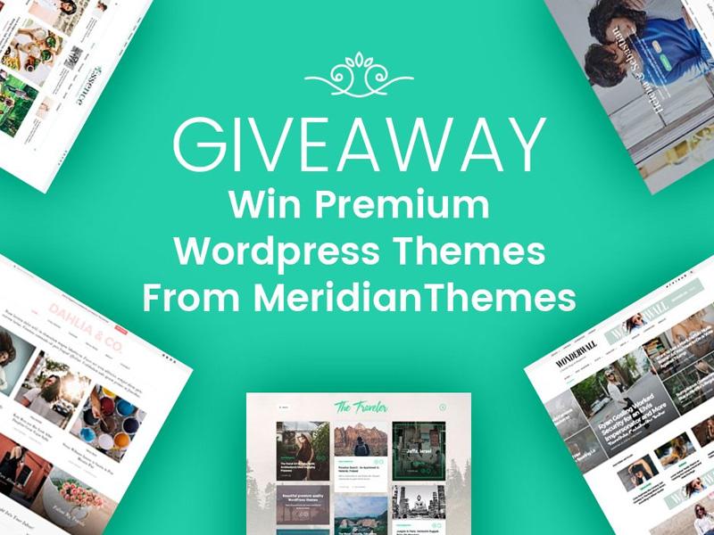 Giveaway: Premium WordPress Themes