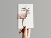 Hardcover Book In Hand Mockup