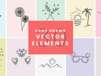 30 Handdrawn Vector Elements