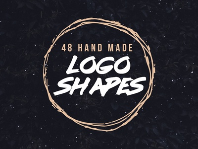Hand Drawn Vector Logo Shapes