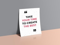 Quotes Poster Mockup