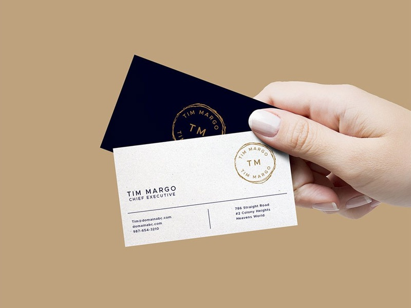 Hand Holding Business Cards Mockup free psd download psd freebies freebie free mockup hand holiding business card