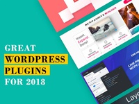 Some Great WordPress Plugins To Use In 2018