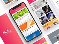 Moby App Ui Kit