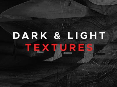 16 Dark And Light Textures