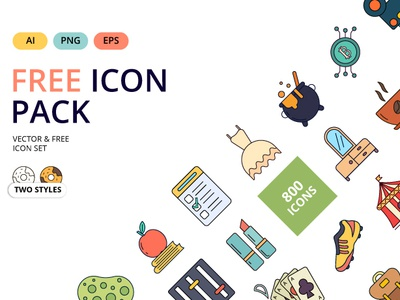 Free Icon Packs filled icons color icons line icons png icons vector vector icons icons freebies freebie free