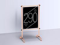 Display Stand Poster Mockups