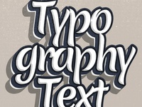 Handdrawn Typography Text Effect