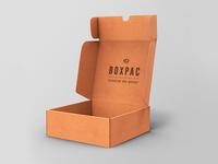 Food Packaging Box Mockup