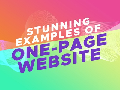 Examples Of Onepage Websites