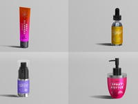 Cosmetic Product Mockups