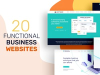 20 Functinal Business Websites