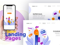 Free Sales Landing Pages