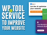 WP Tools & Services to improve your website