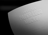 Paper Branding Logo Mockups