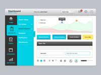 Dashboard UI Elements